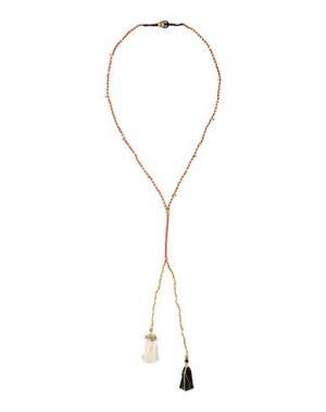 Ожерелье POMANDÈRE. Цвет: красно-коричневый