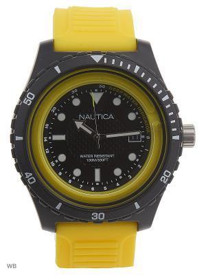 Часы Nautica. Цвет: черный, синий