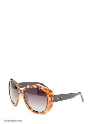 Солнцезащитные очки Polaroid. Цвет: коричневый, рыжий