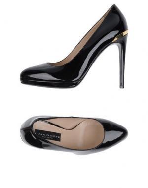 Туфли GAIA D'ESTE. Цвет: черный