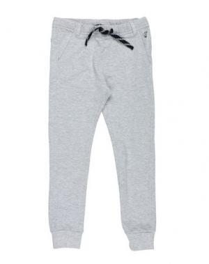 Повседневные брюки NORTH POLE. Цвет: серый