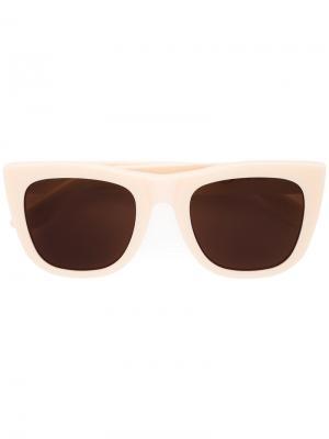 Солнцезащитные очки Gals Retrosuperfuture. Цвет: белый