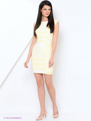Платье EXPLOSION. Цвет: желтый