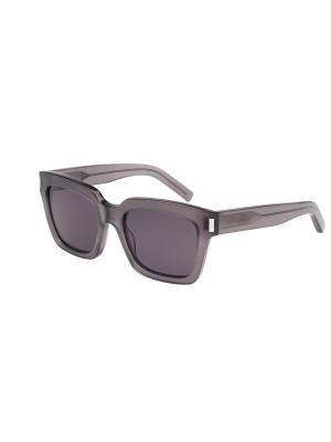 Солнцезащитные очки Saint Laurent. Цвет: серый
