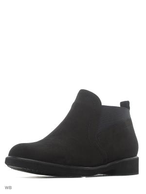 Ботинки ELITE. Цвет: черный