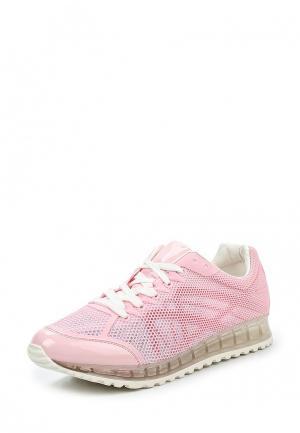 Кроссовки Damerose. Цвет: розовый
