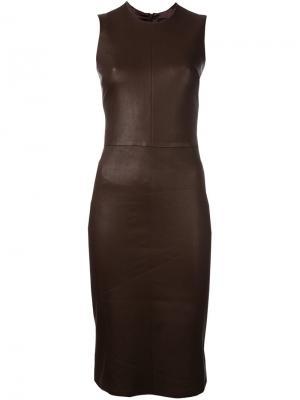 Платье Eva Plonge Stouls. Цвет: коричневый