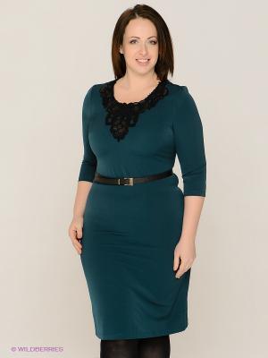 Платье MAFUERTA. Цвет: зеленый