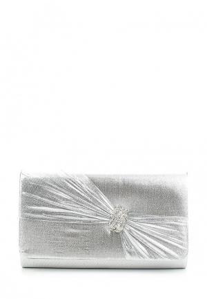 Клатч Eternel. Цвет: серебряный