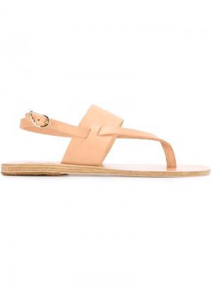 Сандалии Zoe Ancient Greek Sandals. Цвет: телесный
