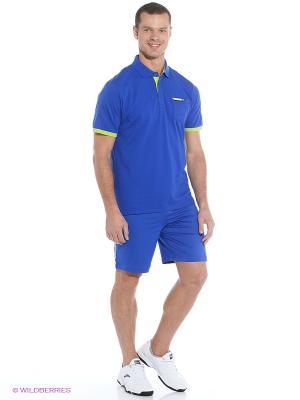Футболка-поло ANTA. Цвет: синий