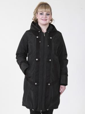 Пальто Джульетта VIKO. Цвет: черный