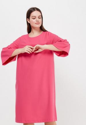Платье Aelite. Цвет: розовый