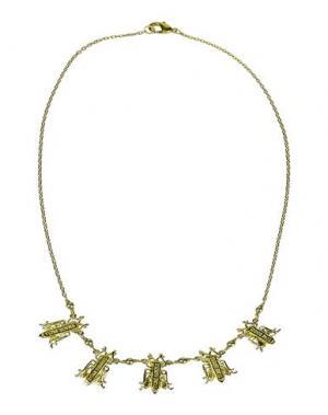Ожерелье TOM BINNS. Цвет: золотистый