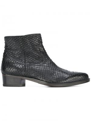 Scaled ankle boots Htc Hollywood Trading Company. Цвет: чёрный