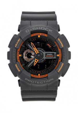 Часы Casio. Цвет: серый