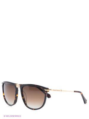 Солнцезащитные очки VW 820S 02 Vivienne Westwood. Цвет: коричневый