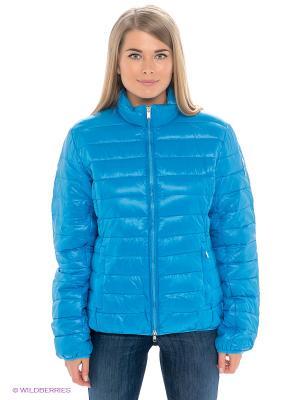 Куртка Bomboogie. Цвет: голубой