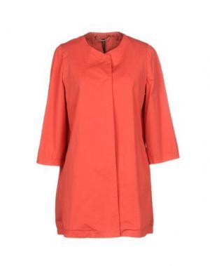 Легкое пальто MANILA GRACE. Цвет: коралловый