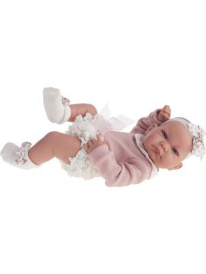 Кукла-младенец Эмма, 42 см Antonio Juan. Цвет: розовый