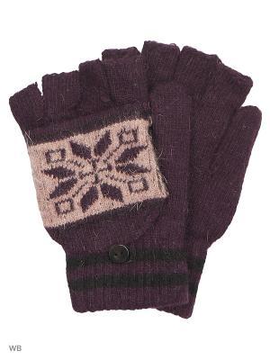 Перчатки-варежки Punta. Цвет: сиреневый