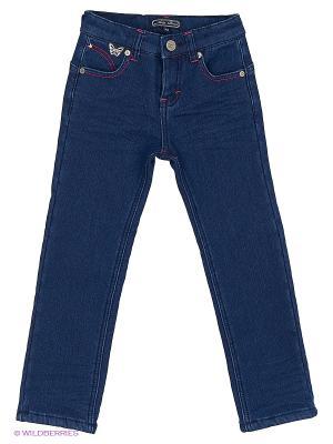 Брюки джинсовые Nota Bene. Цвет: темно-синий