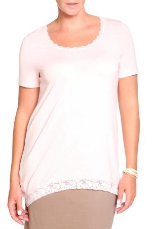 Блуза RITA PFEFFINGER. Цвет: розовый