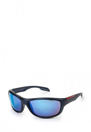 Очки солнцезащитные Image Color. Цвет: синий