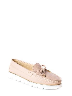 Мокасины MILANA. Цвет: бледно-розовый