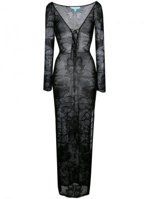 Пляжное платье Melissa Odabash. Цвет: чёрный