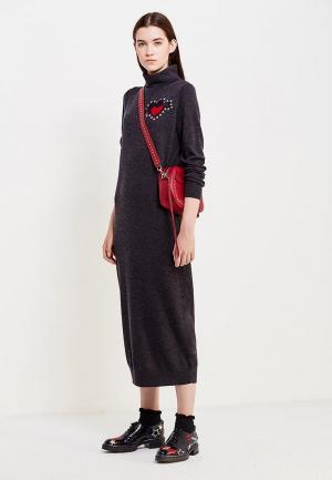 Платье Markus Lupfer. Цвет: серый