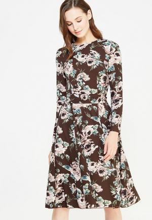 Платье IMAGO. Цвет: коричневый