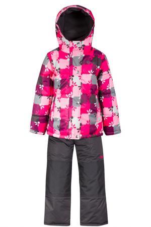 Комплект SALVE. Цвет: розовый, древесный уголь