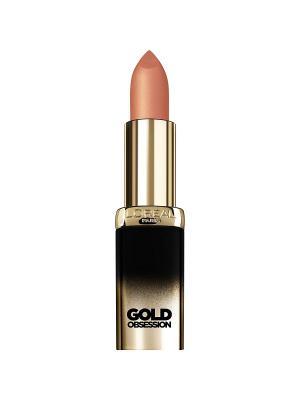 Увлажняющая Губная помада Color Riche Золотая коллекция, оттенок Естесственное Золото, 7 мл L'Oreal Paris. Цвет: бежевый