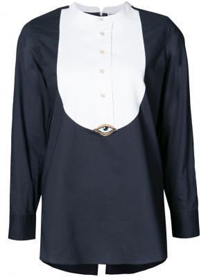 Рубашка Victoria Figue. Цвет: синий