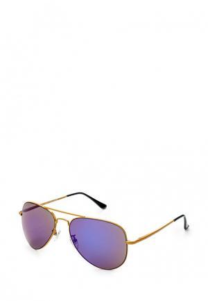 Очки солнцезащитные Sela. Цвет: золотой