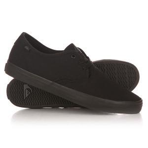 Кеды кроссовки низкие  Shorebreak M Shoe Sbkm Solid Black Quiksilver. Цвет: черный