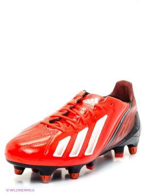 Бутсы adizero F50 Adidas. Цвет: оранжевый