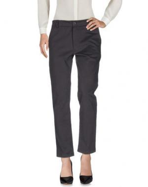 Повседневные брюки LOCAL APPAREL. Цвет: серый