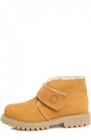 Ботинки Zecchino d'Oro. Цвет: бежевый