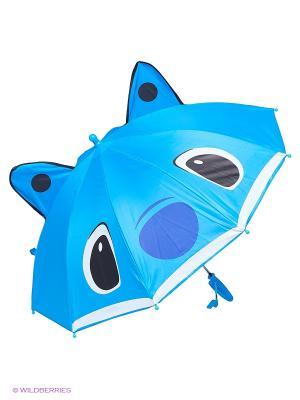 Зонт Modis. Цвет: голубой