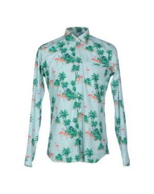 Pубашка BEVILACQUA. Цвет: зеленый