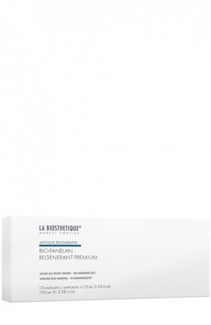 Сыворотка в ампулах против выпадения волос, 10 ампул La Biosthetique. Цвет: бесцветный