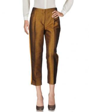Повседневные брюки SI-JAY. Цвет: верблюжий
