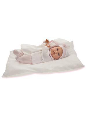 Кукла Ману, озвученная, 29 см. Antonio Juan. Цвет: молочный, бледно-розовый