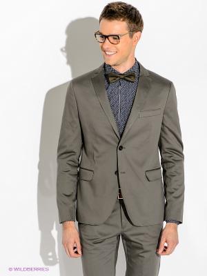 Пиджак GUESS. Цвет: серо-коричневый