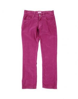 Повседневные брюки FIORUCCI YOUNGWEAR. Цвет: розовато-лиловый