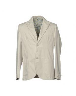Пиджак BARBATI. Цвет: светло-серый