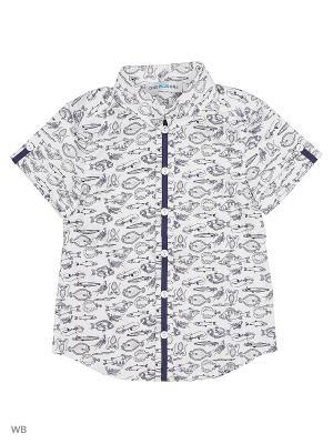 Рубашка One plus. Цвет: белый