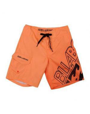 Шорты для плавания BILLABONG. Цвет: оранжевый